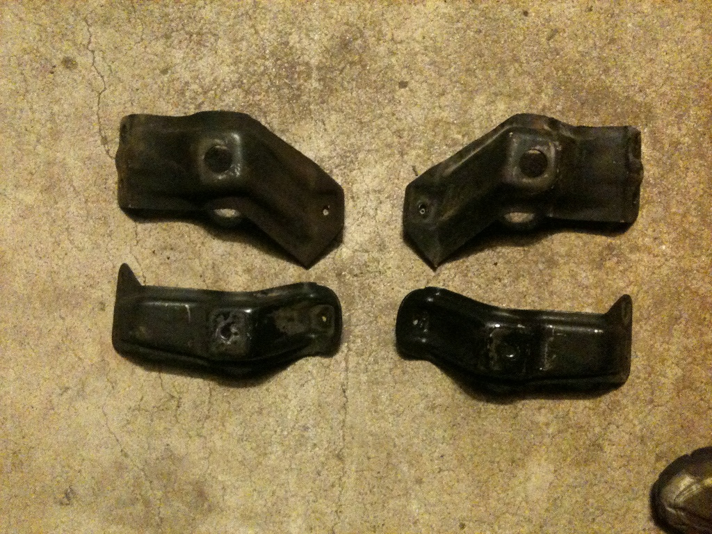 71 big block motor mount perches versus 64 small block motor mount perches