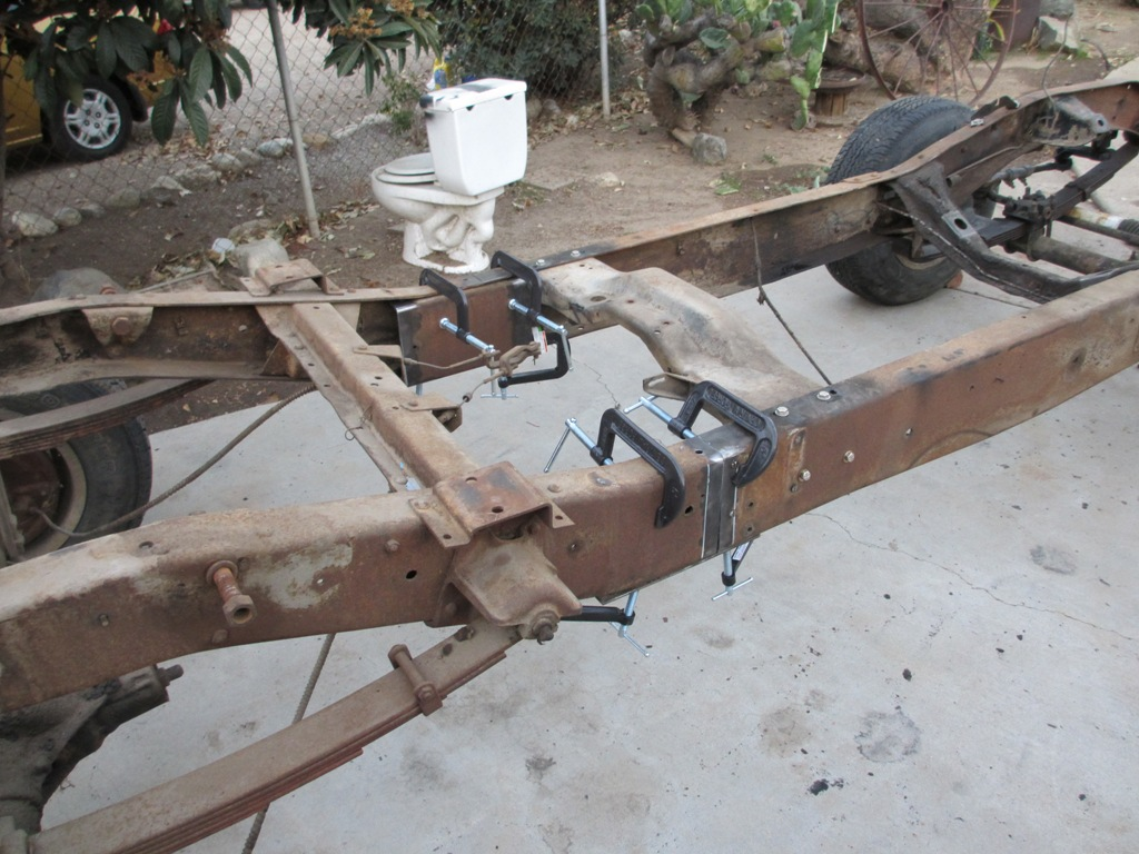 73 87 Chevy Truck Frame Reinforcement 73 87 C10 Frame