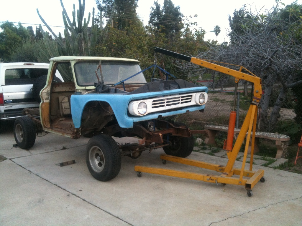 classic project trucks for sale