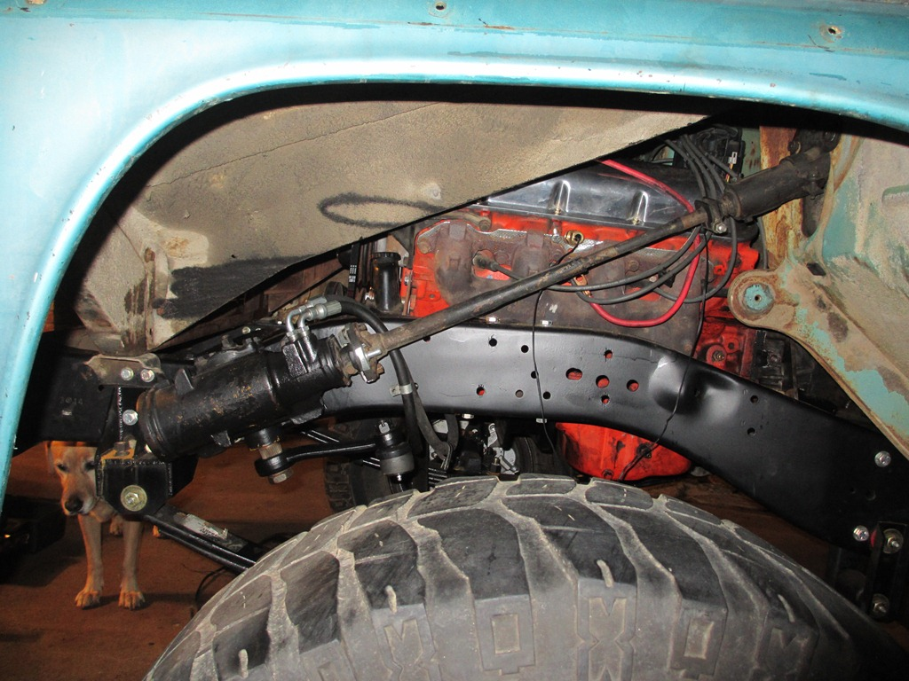 K Steering Angle And Cut Inner Fender on flaming river steering column wiring diagram