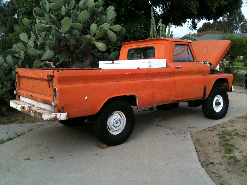 66 4x4 my sons new project - The 1947 - Present Chevrolet & GMC Truck Message Board Network