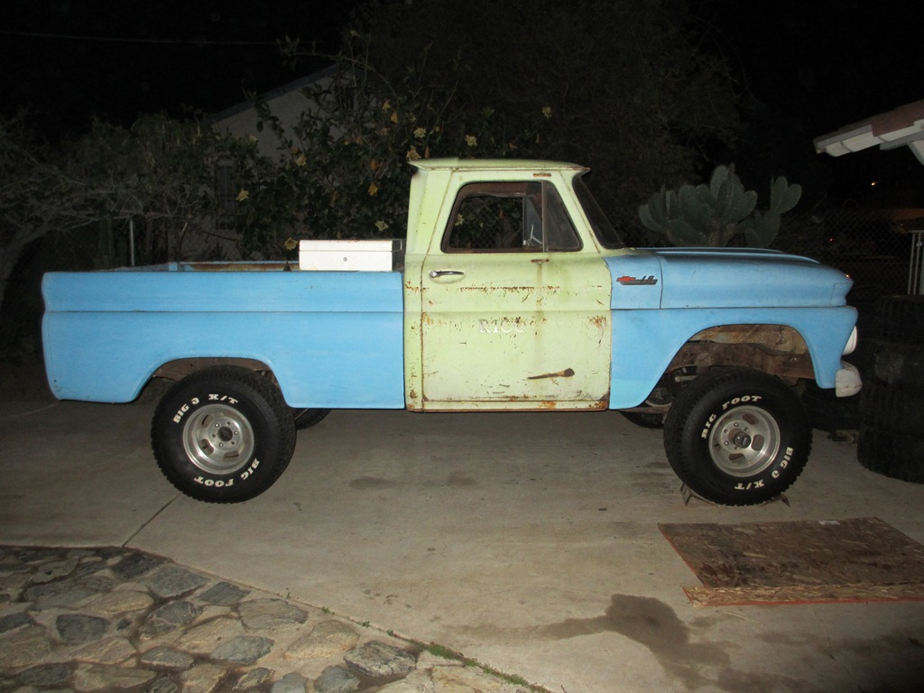 66 4x4 my sons new project - Page 3 - The 1947 - Present Chevrolet ...